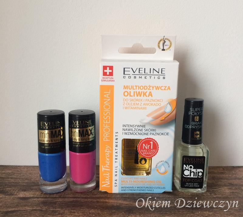 Zestaw do paznokci od Eveline Cosmetics.