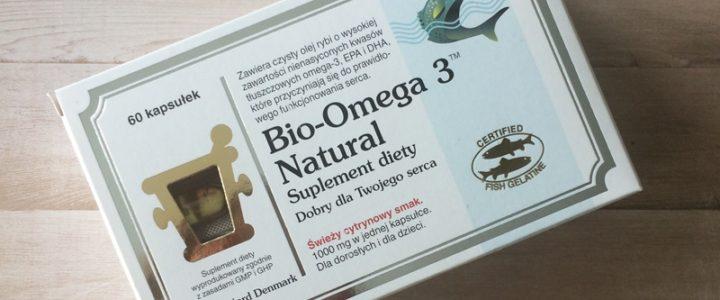 Recenzja suplementu Bio-Omega 3 Natural.