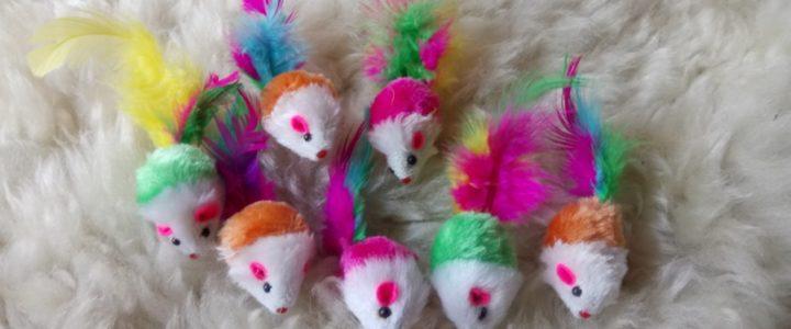 Zabawki dla kota z Aliexpress