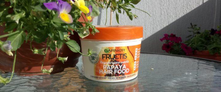 Garnier Fructis Hair Food Papaya – nakarm swoje włosy