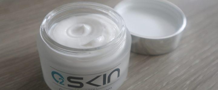 O2Skin Oxygen Lifting Day Cream.