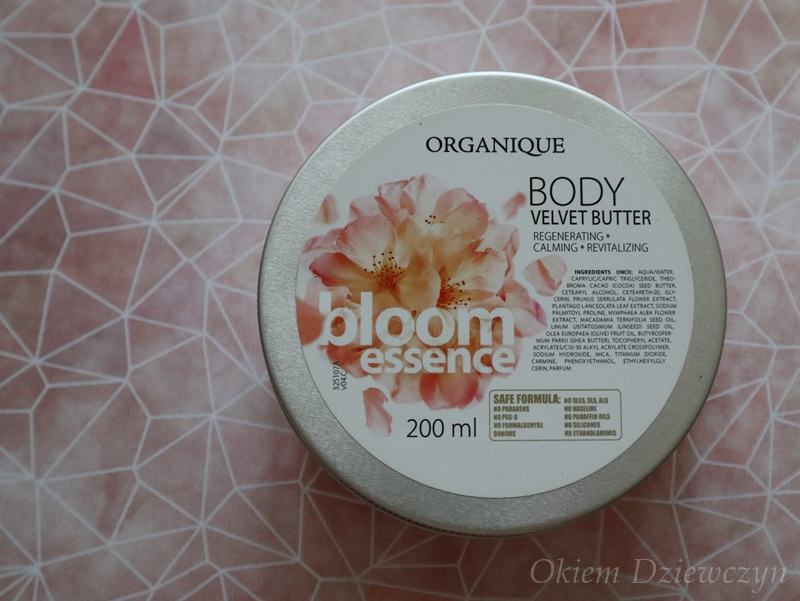 Masło do ciała Organique Bloom Essence.