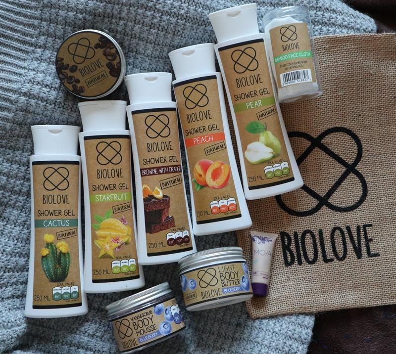Kosmetyki marki Biolove z Kontigo.