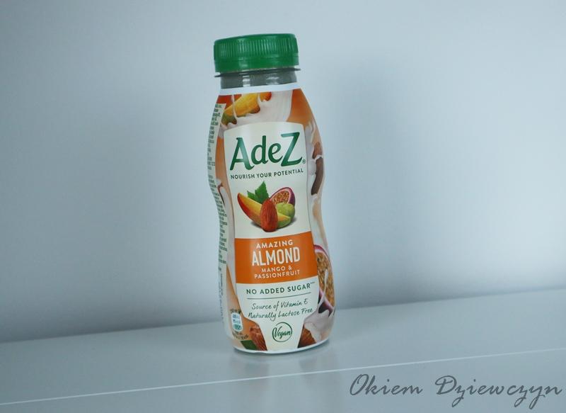 Napój migdałowy z sokami owocowymi wzbogacony w witaminę E.
