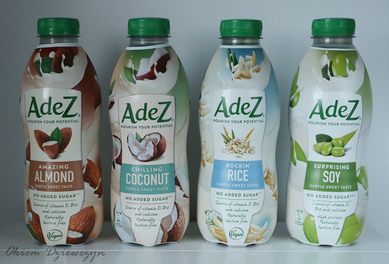 Napoje roślinne AdeZ zamiast mleka