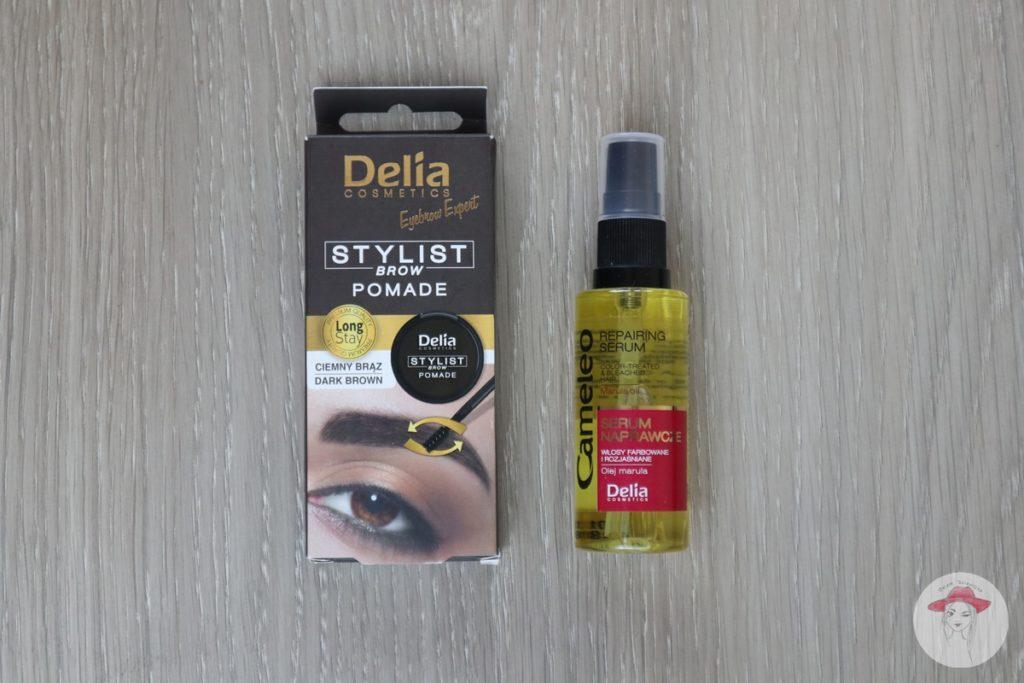 Delia pomada do brwi i serum naprawcze do włosów
