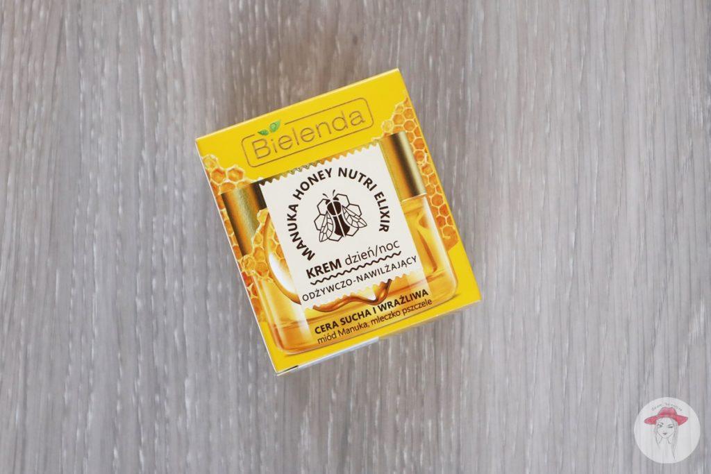 Krem miód manuka mleczko pszczele Bielenda